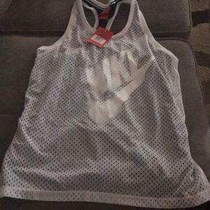 Nike mesh jersey women's size L